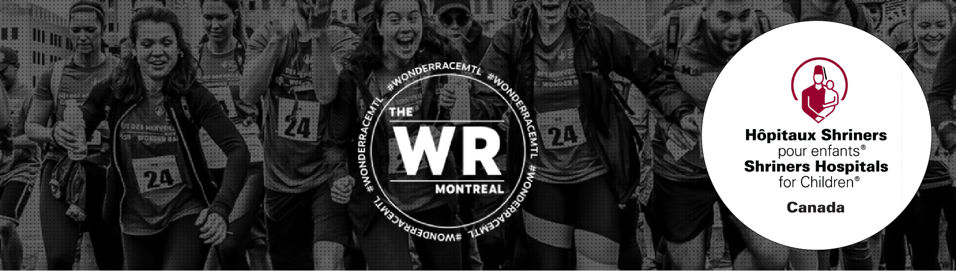 Wonder Race Banner Image with Logo