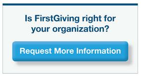 FirstGiving button