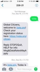 Mobile (SMS): Peer-to-Peer vs  Broadcast