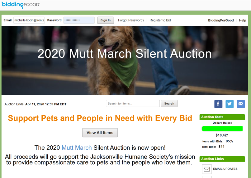 Mutt March Auction