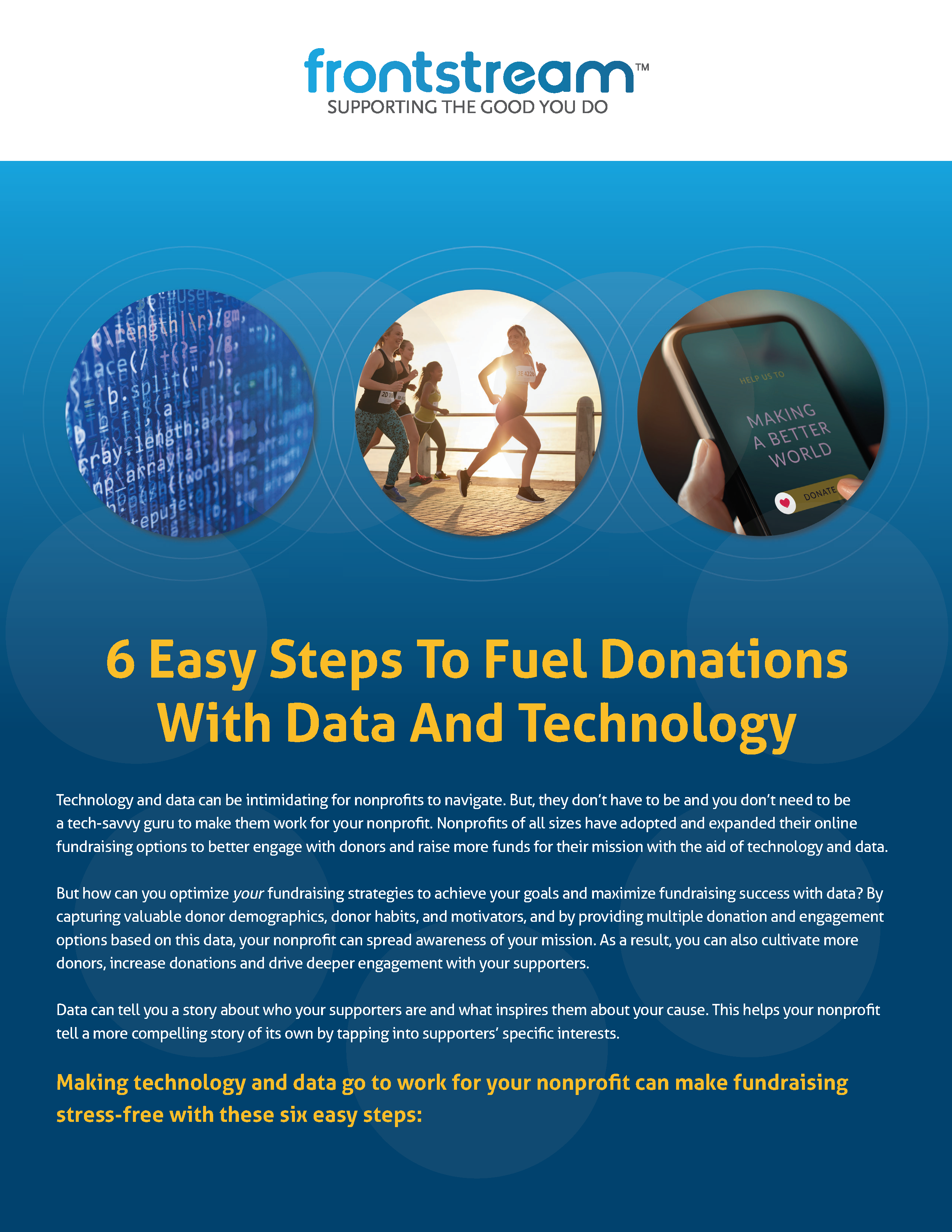 6 Easy Steps To Fuel Donations Cover
