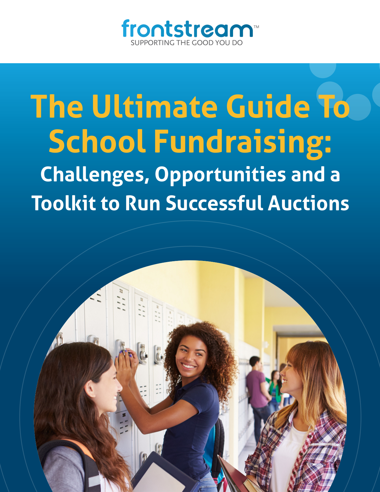 FrontStream The Ultimate Guide To School Fundraising (final)